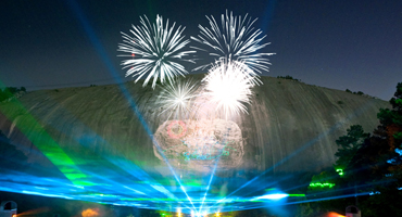 Stone Mountain Christmas.Stone Mountain Lasershow Spectacular In Mountainvision In