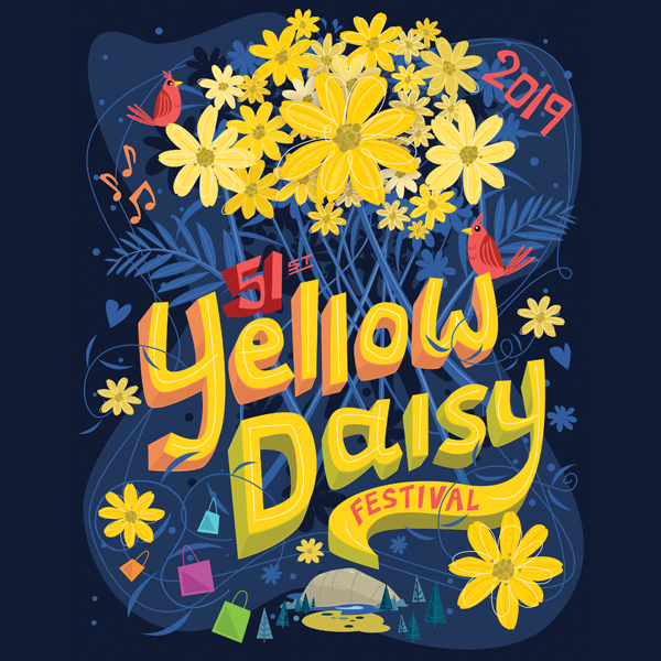 2019 Yellow Daisy Featured Artist: Thomas Burns