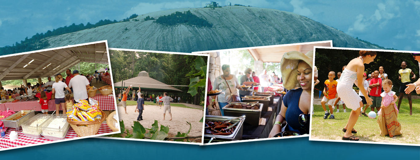 Catered Events at Stone Mountain Park
