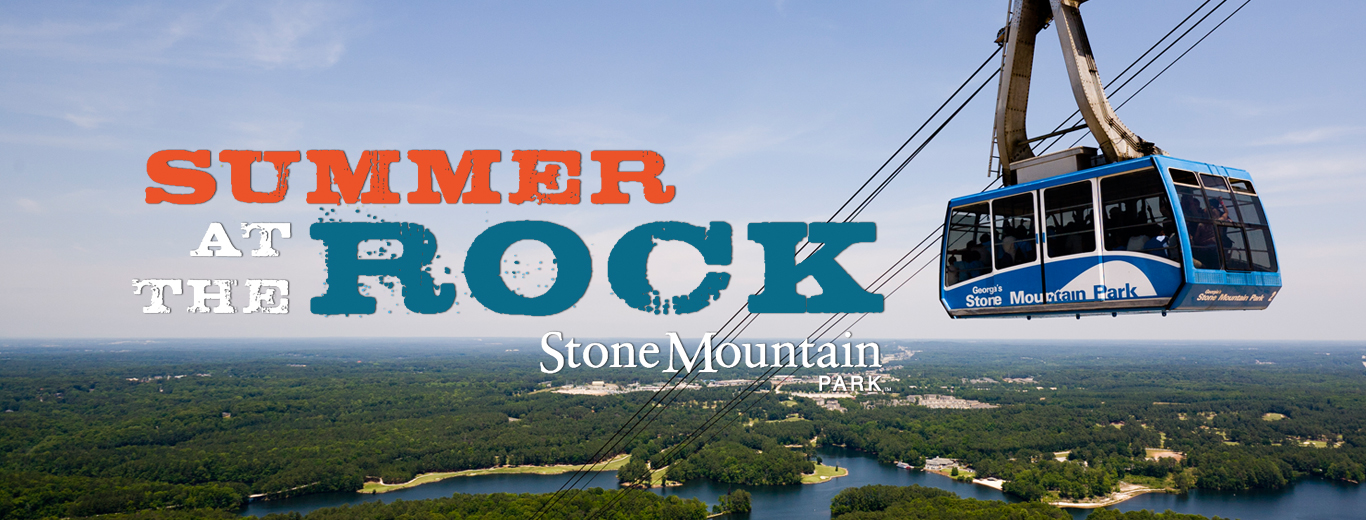 Summer at the Rock at Stone Mountain Park
