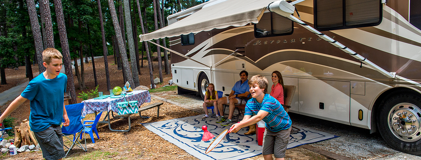 Stone Mountain Park Campground RVs