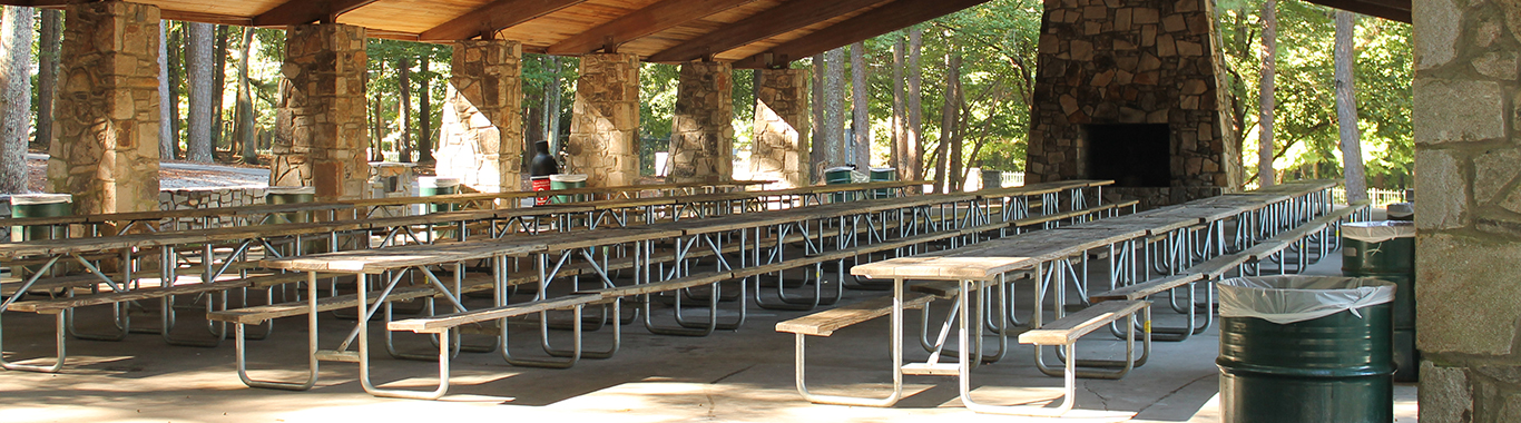 Fireside Pavilion at Stone Mountain Park