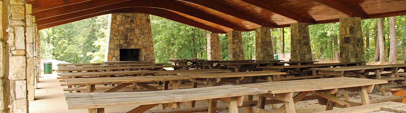 Hill Top Pavilion at Stone Mountain Park