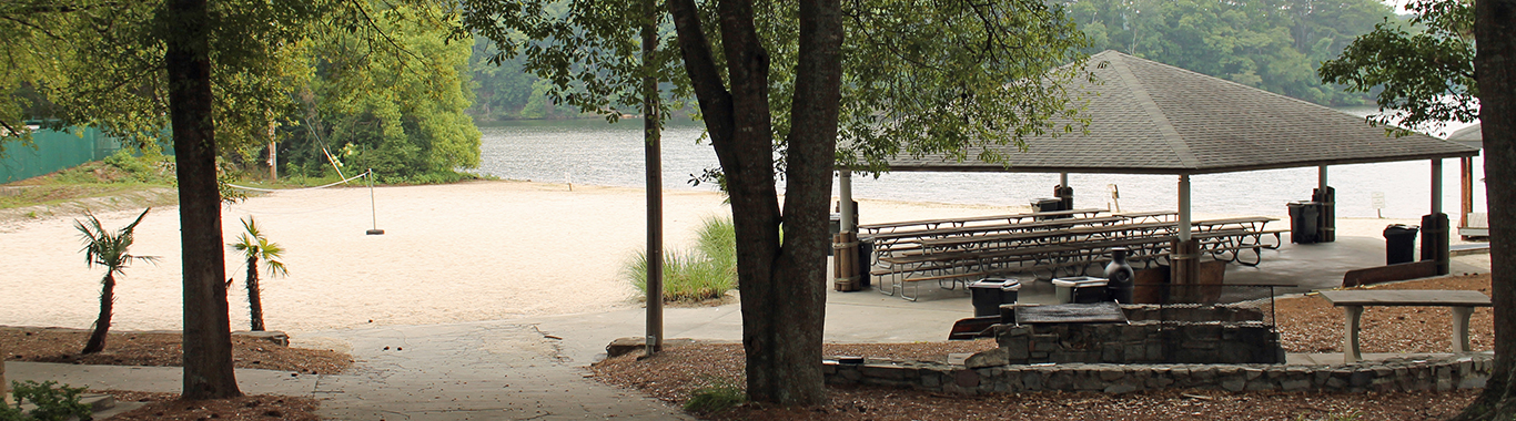 Lakeside Pavilion at Stone Mountain Park