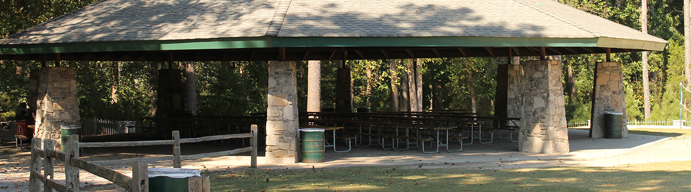 Rail Road Pavilion at Stone Mountain Park
