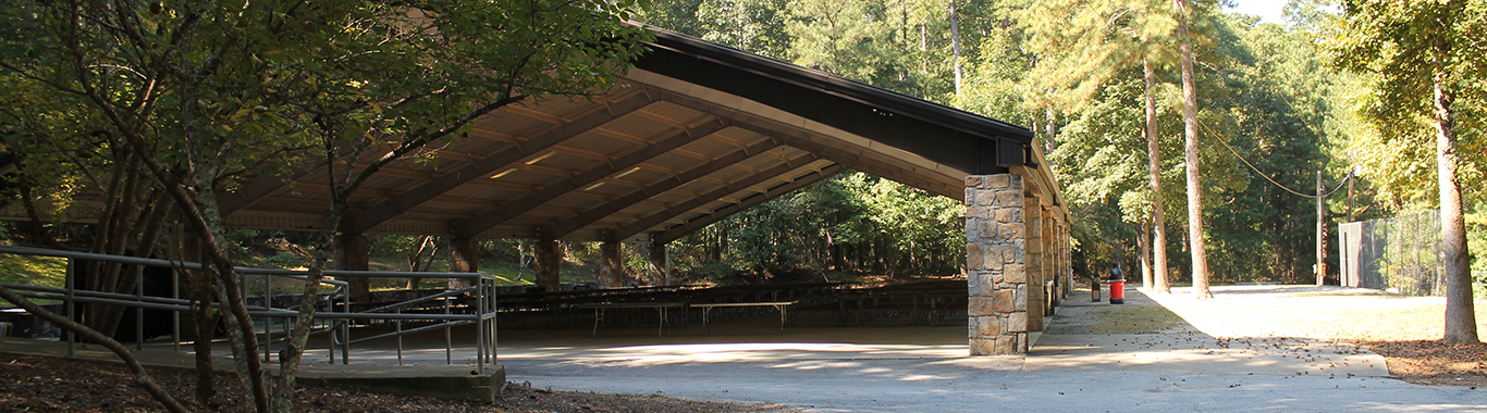 Sports Pavilion at Stone Mountain Park