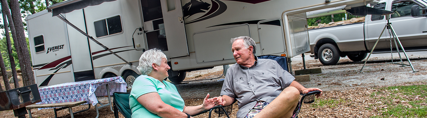 Stone Mountain Park Campground RV Sites