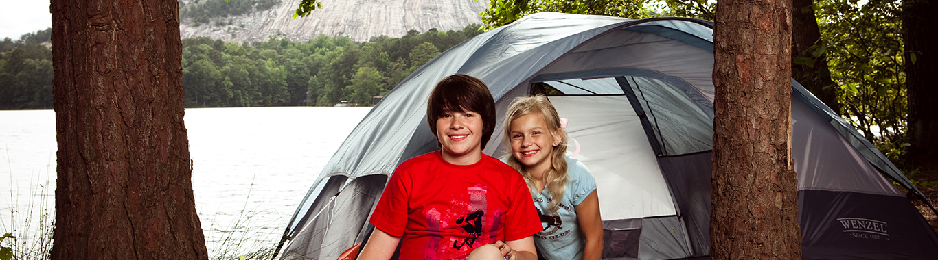 Stone Mountain Park Campground Tent Sites