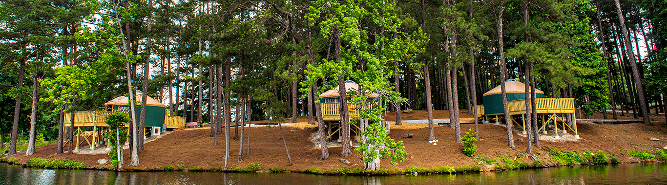 Stone Mountain Park Campground Yurt Sites