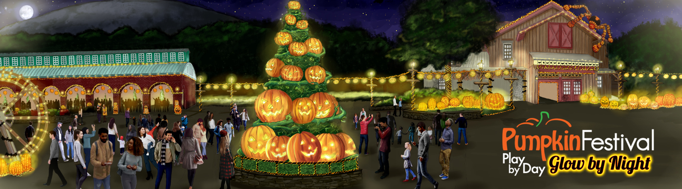 Pumpkin Festival Play by Day, Glow by Night