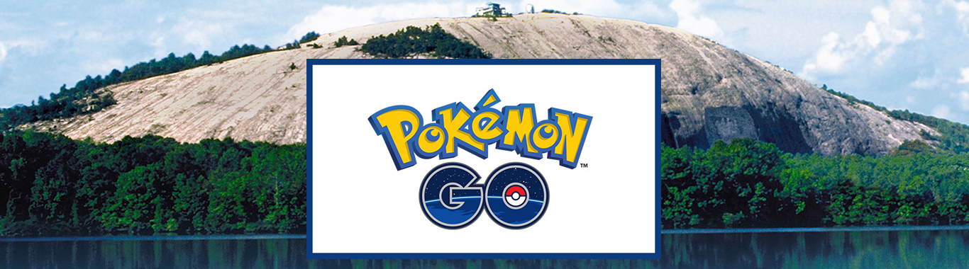 Pokemon GO at Stone Mountain Park