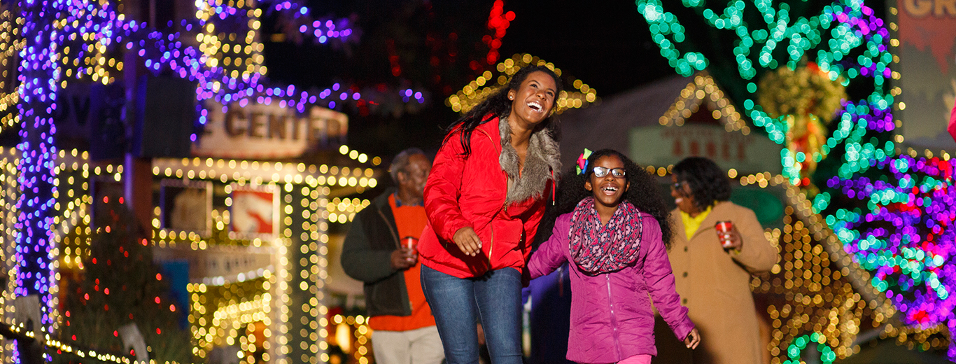 Stone Mountain Christmas Lights