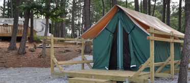 Campground Safari Tents