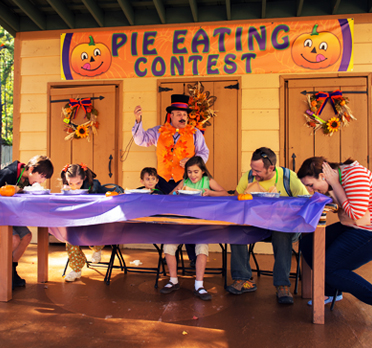 Pumpkin Festival Pie Eating Contest