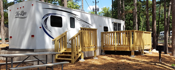Stone Mountain Park RV Rental Site
