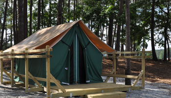 Safari Tents at Stone Mountain Park Campground