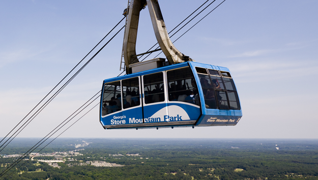 Summit Skyride At Stone Mountain Park
